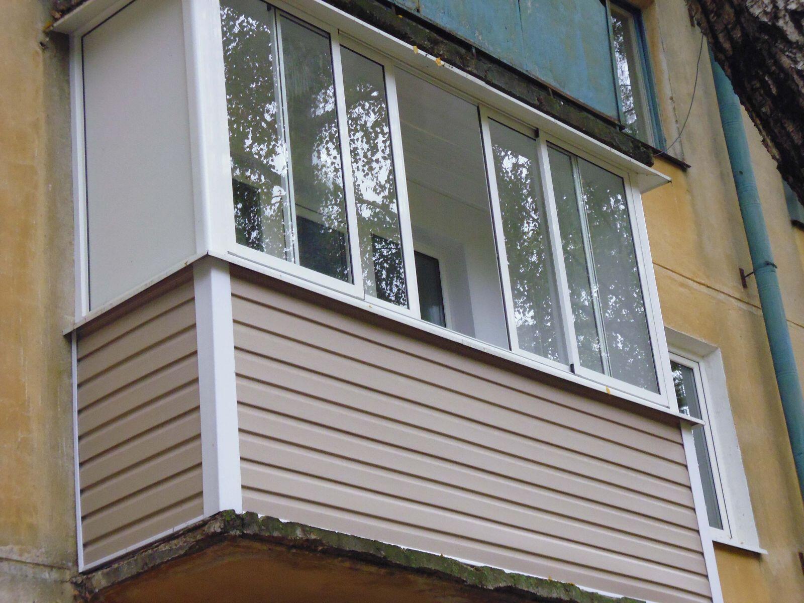 рамы балконные раздвижные пвх